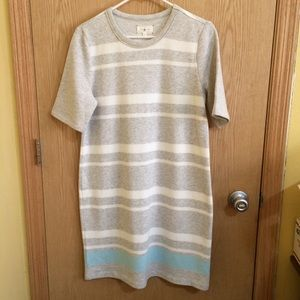 Lou & Grey Striped Sweater Dress